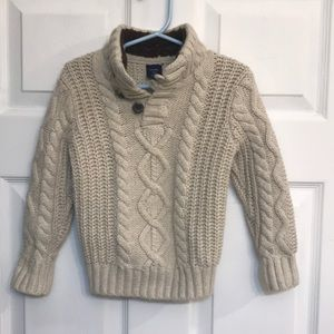 Baby Gap cable knit sweater